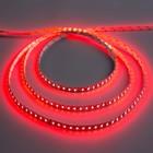 Светодиодная лента 12В, SMD3528, 5 м, IP33, 120 LED, 9.6 Вт/м, 6-7 Лм/1 LED, DC, КРАСНЫЙ