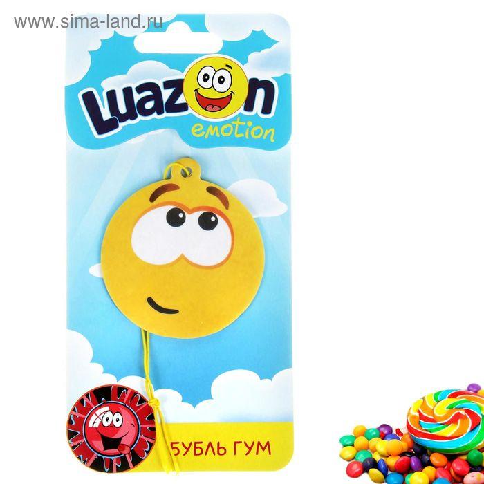 Ароматизатор для авто Luazon Emotion, бубль-гум