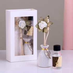 """Gift set with fragrance oil 15 ml """"Vase with flower"""", the scent of vanilla"""