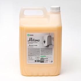 Жидкое крем-мыло Milana, молоко и мед, 5кг