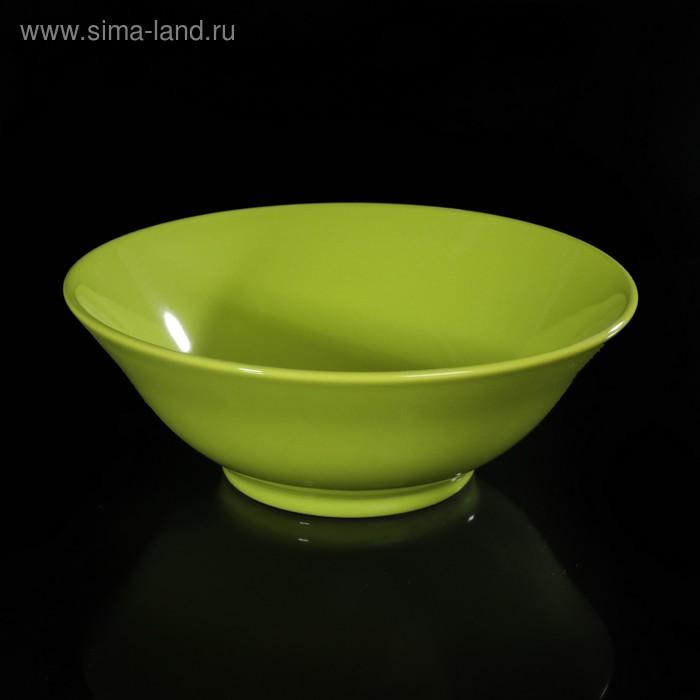 Салатник d=18 см цвет зеленый