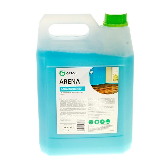 Средство с полирующим эффектом для пола Arena, 5 л