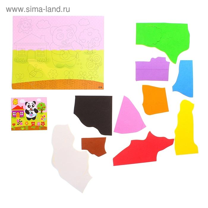"Аппликация 3D ""Панда"" из ЕVA"