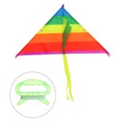 "Kite ""Color stripe"" with fishing line, MIX colors"