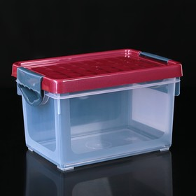 Контейнер для хранения с крышкой Systema, 5 л, 25,5×18×15 см, цвет МИКС