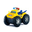 Машина-перевёртыш «Полиция», работает от батареек, цвета МИКС - фото 105649101
