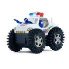 Машина-перевёртыш «Полиция», работает от батареек, цвета МИКС - фото 105649102
