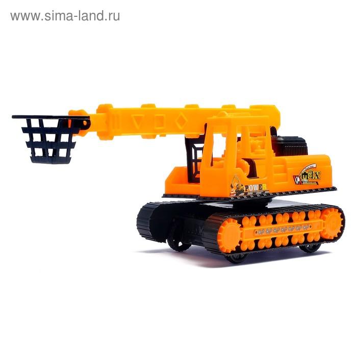 """Трактор инерционный """"Гусеничный кран"""""""