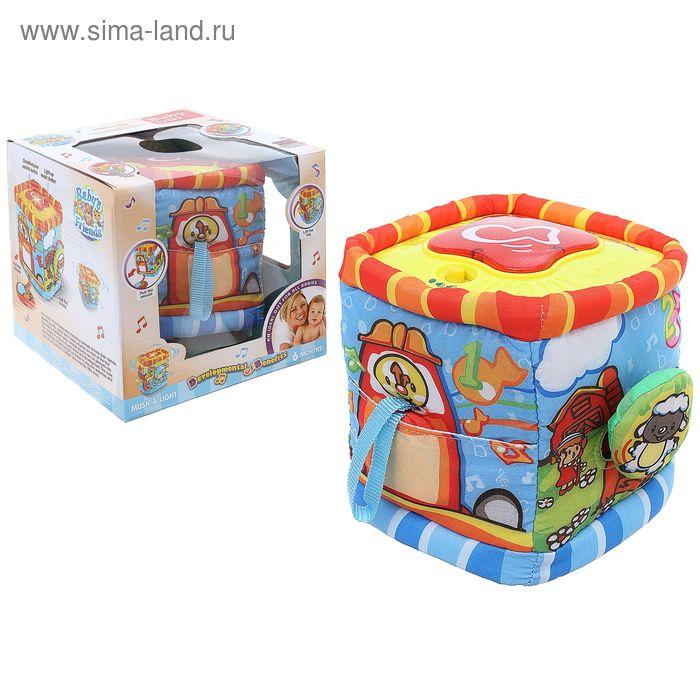 """Развивающая игрушка """"Кубик"""" с музыкальными элементами"""