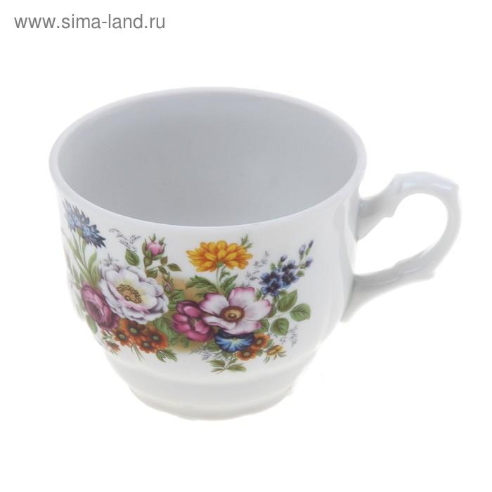 "Чашка чайная 250 мл ""Тюльпан. Букет цветов"""
