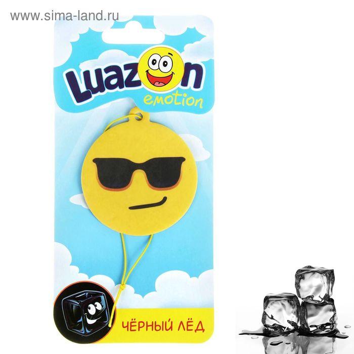Ароматизатор для авто Luazon Emotion, черный лед
