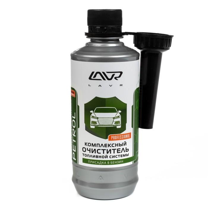 Очиститель топливной системы бензиновых двигателей LAVR, присадка, на 40-60 л, 310 мл, банка