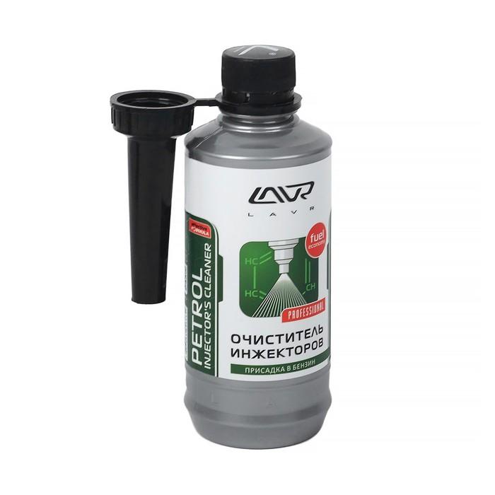 Очиститель инжекторов LAVR, присадка в бензин на 40-60 л, 310 мл, флакон