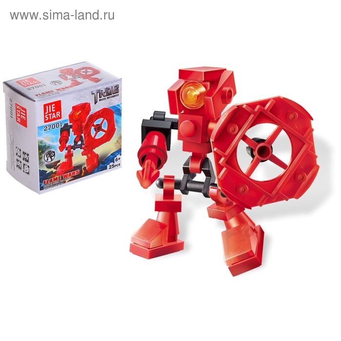 """Конструктор Робот """"Огненный воин"""", 25 деталей"""