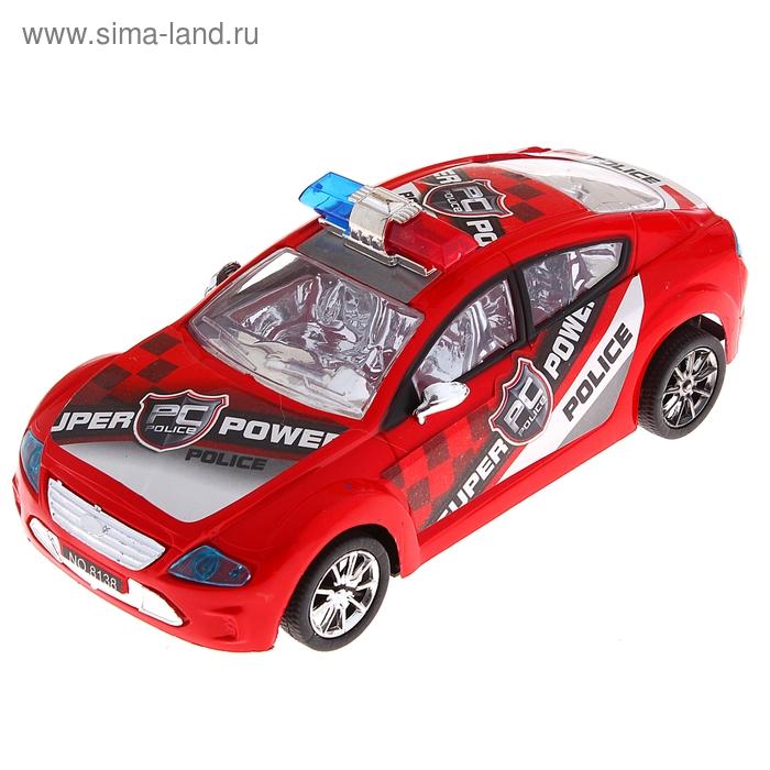 """Машина инерционная """"Полиция"""", цвета МИКС"""