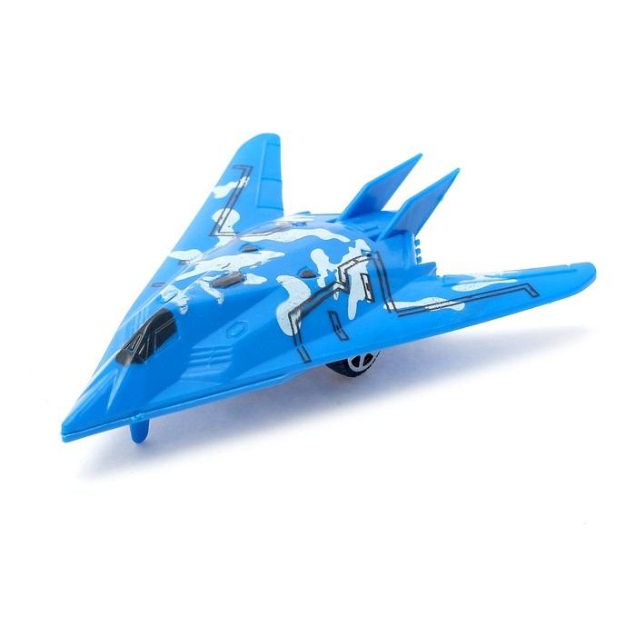Самолёт инерционный «Истребитель», МИКС - фото 105641649