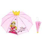 """Umbrella child fur R-25 cm 10-spoke P/e with a crown """"I'm Princess"""""""