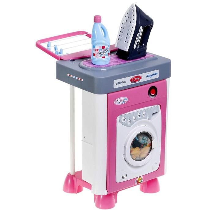 Игровой набор Carmen №2 со стиральной машиной - фото 1588637