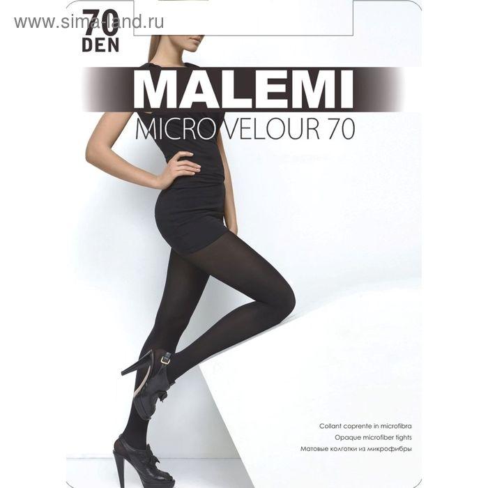Колготки женские MALEMI Micro Velour 70 (daino, 4)