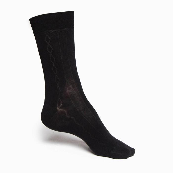 Носки мужские INCANTO, цвет чёрный, размер 4 (44-46)