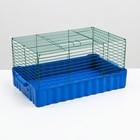 Клетка для кроликов № 4, 75 х 46 х 40 см   микс цветов