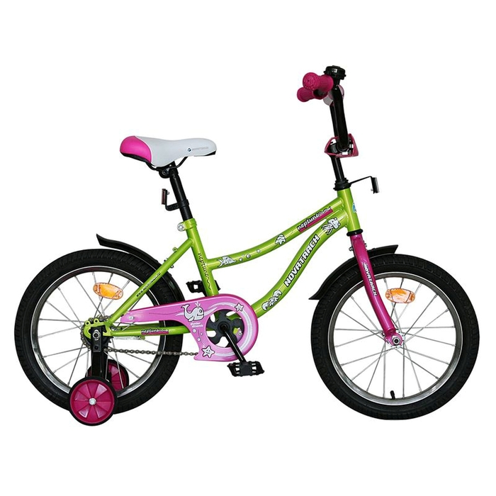 """Велосипед двухколесный 16"""", """"NEPTUNE"""" цвет салатовый Х60741-К"""