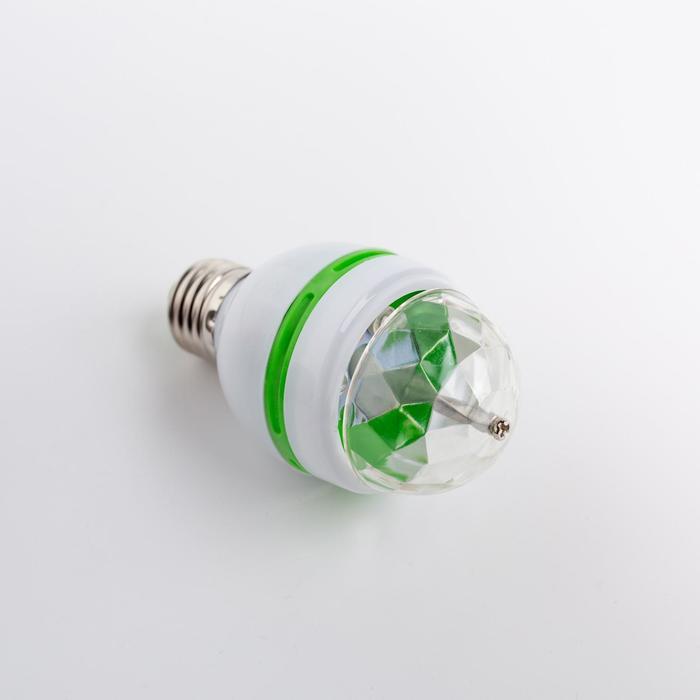 Лампа хрустальный шар диаметр 5,5 см., 220V, цоколь Е27