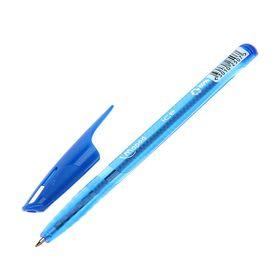 Ручка шариковая Maped Green Ice стержень синий, узел 1.0 мм, трёхгранная, одноразовая