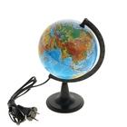 Глобус физический диаметр 150 мм, с подсветкой