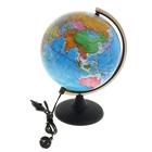 Глобус политический диаметр 250 мм, с подсветкой