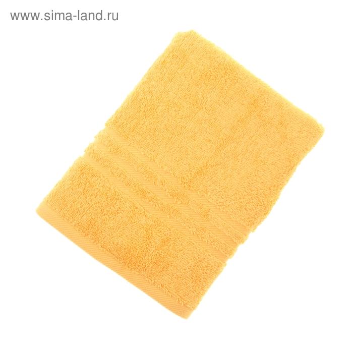 Полотенце махровое однотонное ROYAL TOUCH, 50х90см, цв. оранжевый, 500 гр/м2