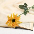 """Цветок искусственный """"Жёлтый клематис"""""""