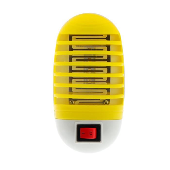 Уничтожитель насекомых электрический LuazON LUNIG-13, УФ-светодиоды, 220 В, микс