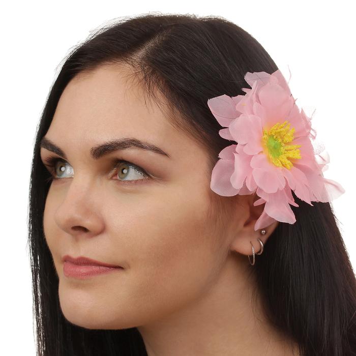Зажим световой ''Иберис'' цвет нежно розовый 1016361
