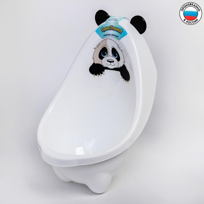 Писсуар детский «Панда», цвет белый