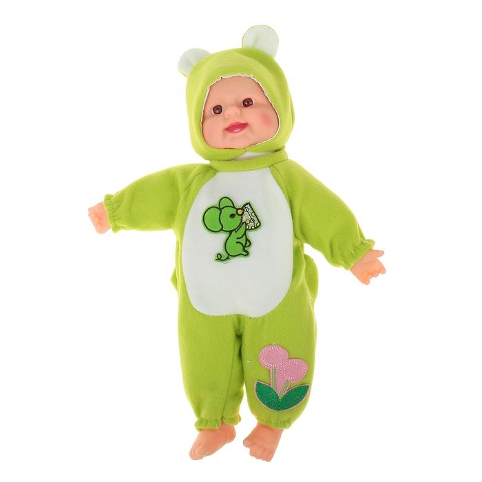 "Мягкая игрушка ""Кукла костюм мышка"", хохочет"