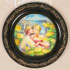 Тарелка декоративная «Сюжет», лаковая миниатюра, D=18 см, микс