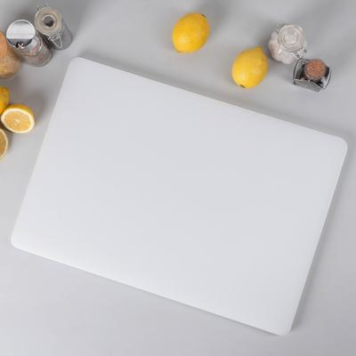 Доска разделочная 60×40 см, цвет белый