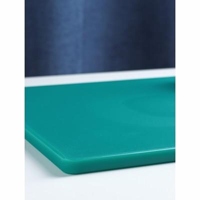 Доска разделочная, 50х35х1,8 см, цвет зелёный