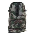 """Рюкзак туристический """"Милитари"""", трансформер, 1 отдел, 2 наружных и 2 боковых кармана, объём - 30л, цвет хаки"""