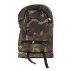 """Рюкзак туристический """"Шнурок"""", трансформер, 1 отдел. 2 наружных и 2 боковых кармана, объём - 22л, цвет хаки"""