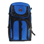 """Рюкзак туристический """"Классика"""", 1 отдел, 2 наружных и 2 боковых кармана, усиленная спинка, объём - 30л, чёрный/синий"""