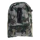 """Рюкзак туристический """"Милитари"""", трансформер, 1 отдел, 2 наружных и 2 боковых кармана, объём - 25л, цвет хаки"""