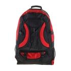 """Рюкзак туристический """"Отдых"""", 1 отдел, 3 наружных и 2 боковых кармана, объём - 35л, чёрный/красный"""