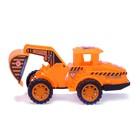 Трактор инерционный «Строитель», МИКС - фото 105655607