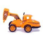 Трактор инерционный «Строитель», МИКС - фото 105655603