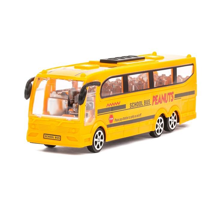 Автобус инерционный «Школьный»