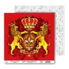 Бумага для скрапбукинга «Герб», 30.5 × 30.5 см, 160 г/м