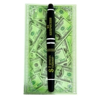 """Ручка подарочная на открытке """"В деньгах главное - их количество"""""""