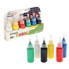 Краска для ткани акриловая Tinta Viva, набор 6 цветов x 27 мл